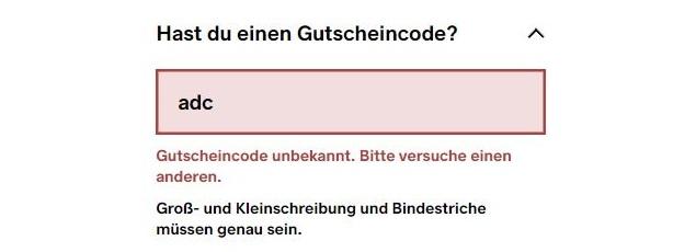 Kickz Gutschein Coupon funktioniert nicht