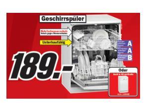 media markt exquisit gsp 9013e stand geschirrsp ler nur 189. Black Bedroom Furniture Sets. Home Design Ideas