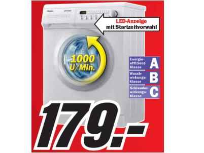 media markt haier ms1050 waschmaschine nur 179. Black Bedroom Furniture Sets. Home Design Ideas