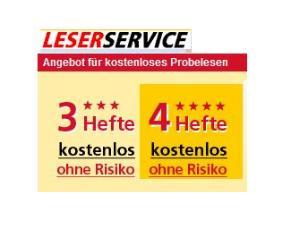 Deutsche Post Leserservice 3 4 Ausgaben Gratis Und Unverbindlich
