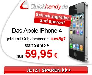 quickhandy apple iphone 4 16gb mit o2 doppelflat. Black Bedroom Furniture Sets. Home Design Ideas