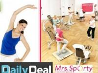 DailyDeal: 1 Monat Fitness bei Mrs. Sporty + Ernährungsberatung für 14,90€ statt 180€