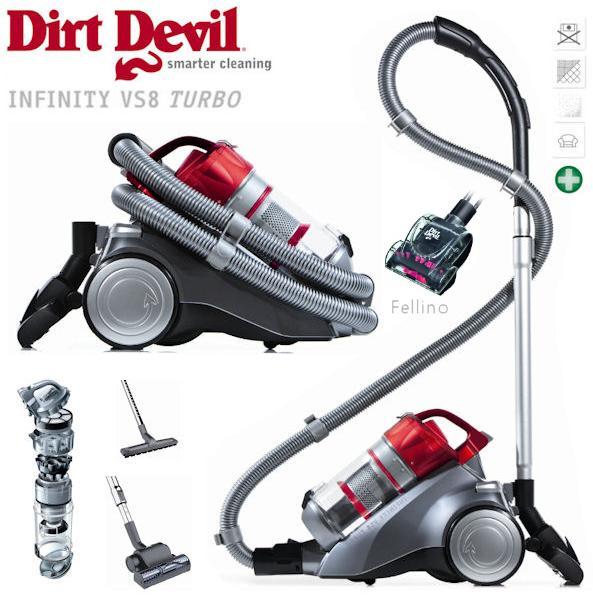 ibood dirt devil infinity vs8 turbo m5036 1 inkl. Black Bedroom Furniture Sets. Home Design Ideas
