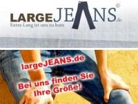 largeJeans.de: Jeans in allen Größen + 4% Neukunden-Bonus bis 30.06.