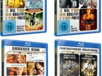 Amazons Blu-ray Movie-Packs: 3 Filme für nur 9,99€ (inkl. Versand) – Alternativen ab 4,44€ (Dune, Toby Keith)