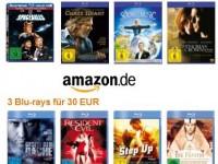 Amazon-Blu-ray-Aktion: 2 Filme für 20€ oder 3 Stück für 30€