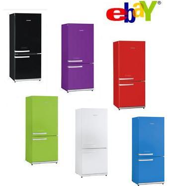 ebay wow severin k hl gefrierkombi a in verschiedenen. Black Bedroom Furniture Sets. Home Design Ideas