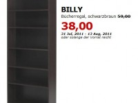 ikea billy b cherregal f r 38 statt 59 bis. Black Bedroom Furniture Sets. Home Design Ideas