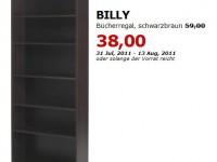 ikea billy b cherregal f r 38 statt 59 bis. Black Bedroom Furniture Sets. Home Design Ideas
