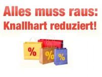 buecher.de: Alles muss raus – Jede Menge Artikel sind knallhart reduziert