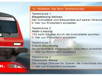 Bahn.de: Gratis Probefahren auf vier Strecken