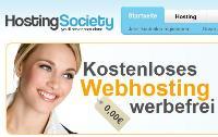 HostingSociety: Webspace kostenlos und werbefrei – Gibt's da einen Haken?