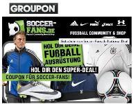 Groupon: 40€-Gutschein für 14,99€ für Soccer-Fans.de – bis 19.02.