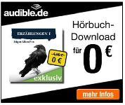 audible.de: Hörbuch mit gruseligen Erzählungen von Edgar Allen Poe gratis downloaden