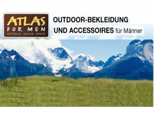 Atlas for Men: Spart 10€ auf Outdoor-Kleidung und Accessoires