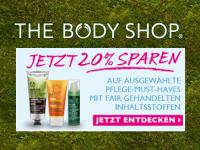 The Body Shop: 20% auf ausgewählte Bestseller