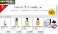 MeinPaket: Verschiedene Designer-Düfte mit teils bis zu 60% Rabatt
