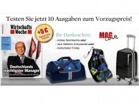 MagClub: 10x WirtschaftsWoche + z.B. adidas Tasche + 5€ Gutschein für 31,50€