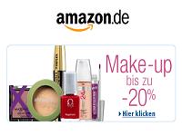 Amazon: Make-up-Produkte bis zu 20% reduziert