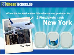 CheapTickets.de: Günstig fliegen und ab 80€ Buchungswert 5€ Rabatt kassieren – nur bis 14.05.