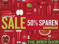 Im The Body Shop online bestellen mit bis zu 50% auf Bio-Kosmetik, neue Düfte und Pflegeprodukte