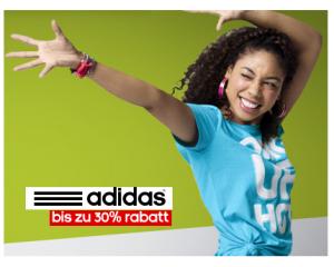 Adidas: Spart bis zu 30% Rabatt auf ausgewählte Artikel im Online-Shop