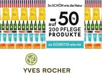 Yves Rocher: 50 Prozent Rabatt auf 200 Pflegeprodukte
