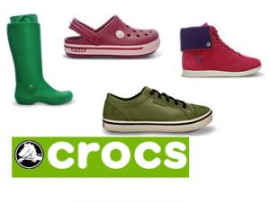 2 Paar Crocs-Schuhe kaufen und 50 Prozent Rabatt auf das zweite Paar bekommen