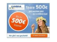 HGWG LichtBlick Gas Special: Bis zu 500 Euro Rückerstattung von Gasabschlagskosten
