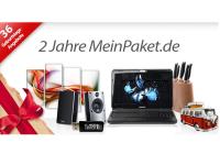 2 Jahre MeinPaket.de: Günstige + versandkostenfreie Geburtstags-Angebote
