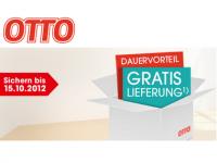 Ein Jahr lang Gratis Versand für Neukunden im Otto Online-Shop