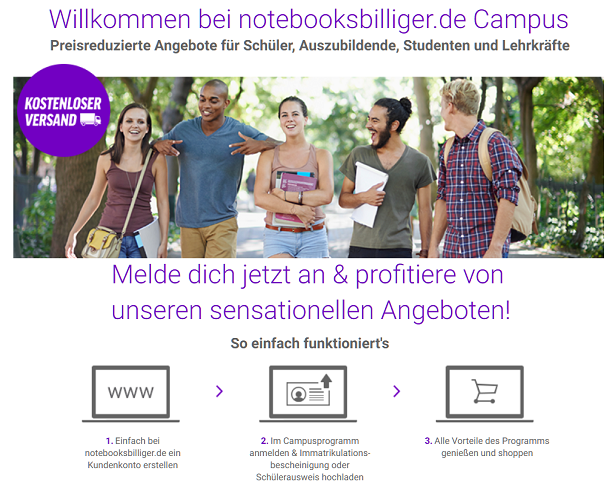Campus Programm Notebooksbilliger