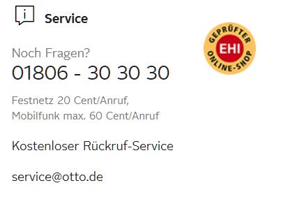 Kundenservice OTTO