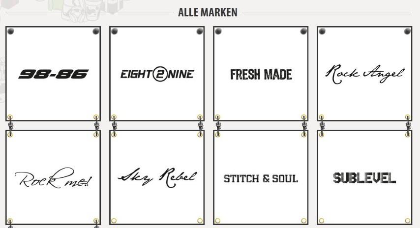 Fashion5 Markenwelt Screenshot
