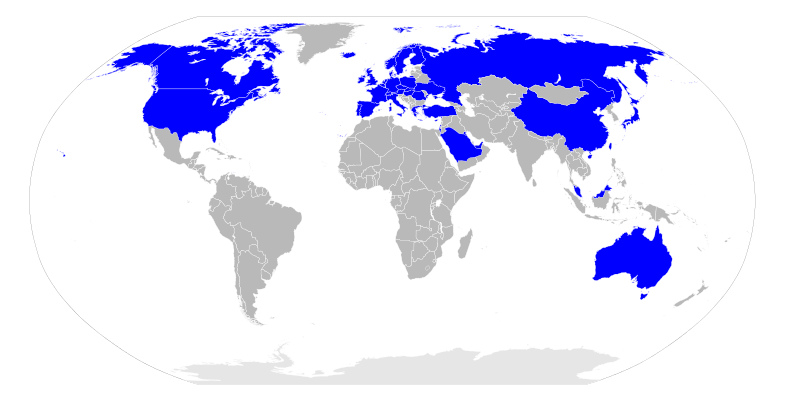 Länder mit IKEA Möbelhäusern