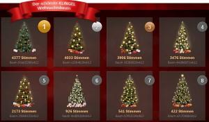 Weihnachtsbaum schmücken und tolle Preise gewinnen