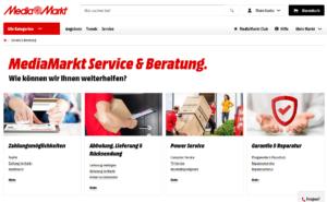 MediaMarkt Infos zu Service & Beratung