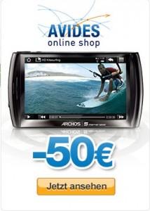 PayPal-Weihnachtsmarkt: ARCHOS Tablet 50 Euro günstiger