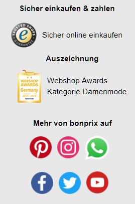 Bonprix Auszeichnungen Social Media