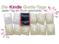 Kindle Gratis Tage bei Amazon: Täglich kostenloser eBook Download