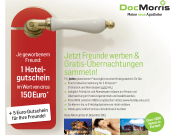 DocMorris Hotel Gutschein für geworbene Freunde erhalten
