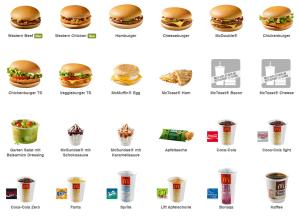 McDonalds SMS