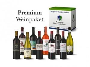 Premium Weinpaket von Hawesko bei Kaufdown um bis zu 60 Prozent reduziert
