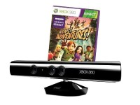Xbox 360 Kinect Sensor + Game Kinect Adventures für 80,97 Euro bei Amazon