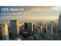 Mit airberlin günstige Flüge ab 399 Euro in die USA buchen