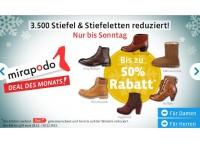 mirapodo Sale: 3.500 Stiefel + Stiefeletten bis zu 50 Prozent reduziert