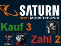 Saturn Kauf 3 Zahl 2 – Musik, Film, Games und Software