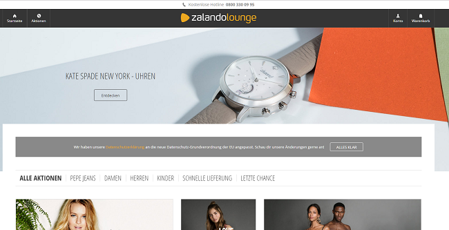 Zalando Lounge Gutschein Shop