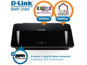 WLAN-Router D-Link Wireless N Powerline Gigabit Router für 39,95 Euro bei iBOOD