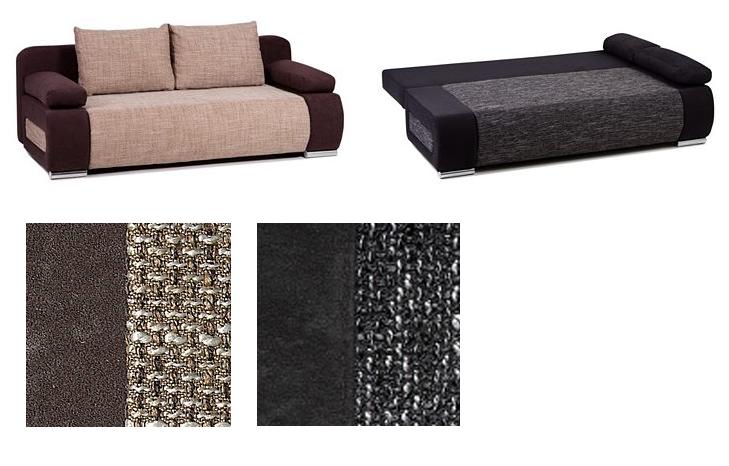 schlafsofa mit bettkasten f r 249 99 euro im otto happy preis des tages. Black Bedroom Furniture Sets. Home Design Ideas